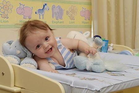 фото семимесячного ребёнка.