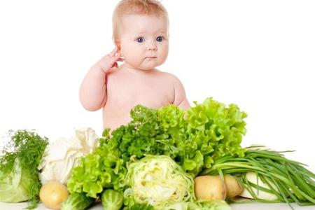 Грудничок, салат, огурцы, картофель