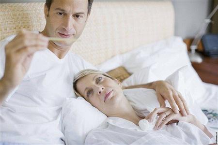 Муж, жена и градусник