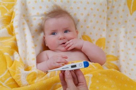 Грудной ребёнок с температурой