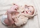 Малыш в памперсе