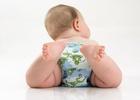 Новорожденный в памперсе