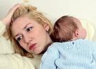 Больная мать с ребёнком